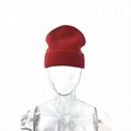 Cable Knit Fisherman Beanie Hat 100% Merino Wool Daily Warm Soft Hat