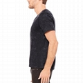 Wholesale best design Acid Wash t-shirt distressed T-shirt organic cotton tshirt