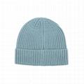Hot sale soft cashmere blank beanie hats