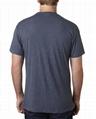 Soft tri blend tshirt blank mens t shirts crew neck tee shirt triblend t shirt