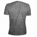 New model China mineral wash t shirt hemp men tee shirts hemp men tshirts