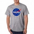 Funny Nasa Tshirt Couple Shirt Clothing O Neck Round Neck T-Shirt For Men Women