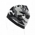 Wholesale green camo knit beanie cap mens beanie winter ski hat knitted hats 6