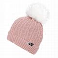 Winter fur pom pom beanie hats soft