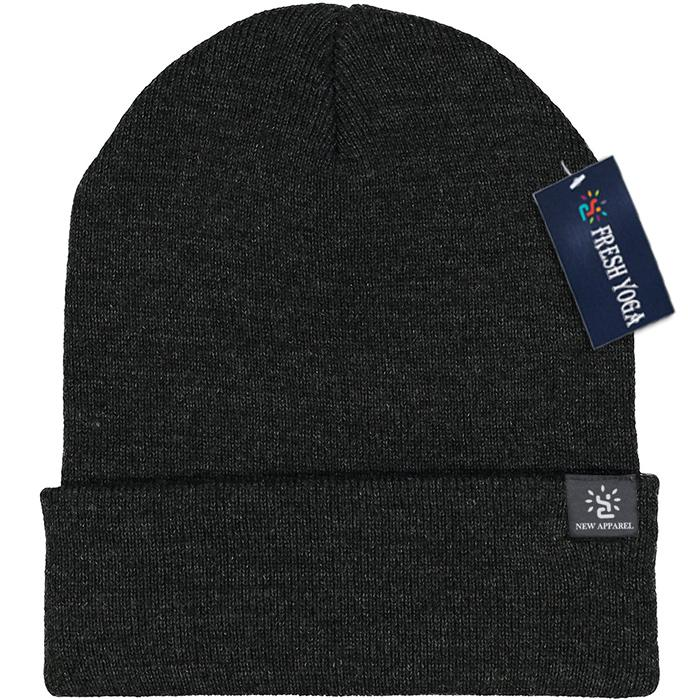 Blended Yarn Twist-knit Beanie With Customized Logo Woven Label Tag Winter Hat 5