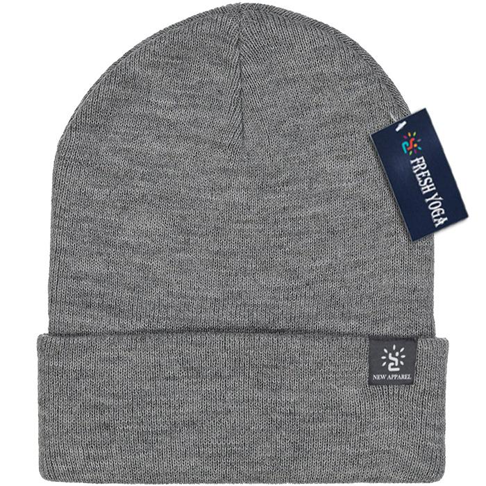 Blended Yarn Twist-knit Beanie With Customized Logo Woven Label Tag Winter Hat 4