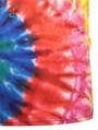 Wholesale Tie Dye Tshirt Colored Gradual Hip Hop Streetwear 3D Printing t-shirt