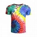 Wholesale Tie Dye Tshirt Colored Gradual