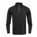 Wholesale Mens Fitted Merino Wool 1/4