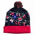 Light Up Christmas Hat Santa Clothes LED