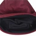 Cotton Slouchy Knit Beanie Skullcap Crochet Oversize Satin Lined Hat Custom Logo 3