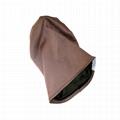 Wholesale satin lined beanie plain women hats woven label beanie custom tags 5