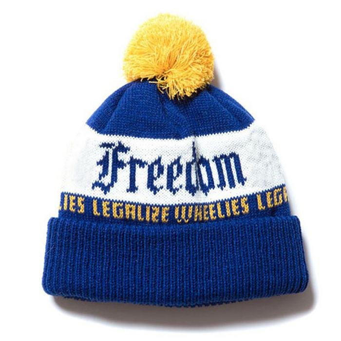 Wholesale new york logo jacquard beanie cap sa us ca uk Knitted embroidery patch 3