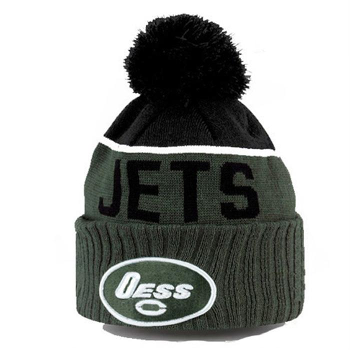 Wholesale new york logo jacquard beanie cap sa us ca uk Knitted embroidery patch 4