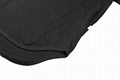 Wholesale scoop bottom t shirt curved hem long t shirt crew neck tees custom