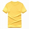 Custom your own logo white cotton printing t shirt sublimation clothes