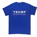 USA Trump T Shirt Make America Great Again MAGA 45th President Graphic Shirt