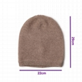 Hot Sale Soft Cashmere Beanie Skully Womens Blank Beanie Hats Thermal Watch Cap
