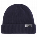 Classic mens tuque beanies with custom