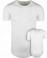 Wholesale drop tail t shirts round bottom tee shirt cotton Hipster Hip Hop shirt