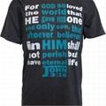 Custom Bible Verse T-shirts Printed Christian Quotes T-shirts Drop Shipping