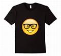 Cute Emoji Shirt With 100% Cotton Couple