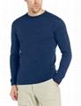 Classic merino wool tshirt blank tees mens crew neck tee long sleeve shirt