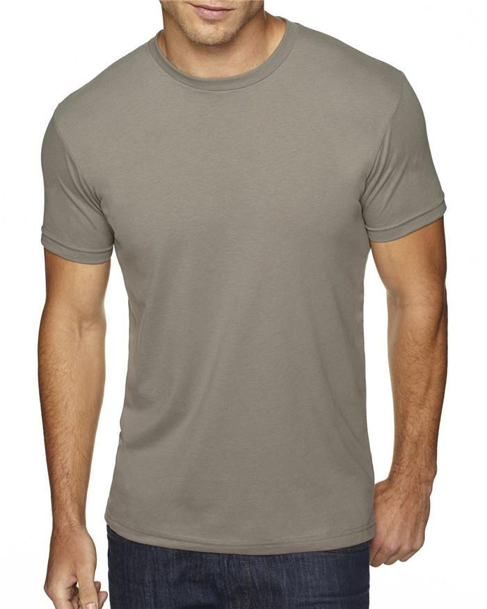 Simple style men clothes t shirt 90% polyester 10% cotton crew blank t shirt