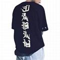 New Style Custom Mens Hipster T Shirt Hip Hop Graphic Japanese Letter Print