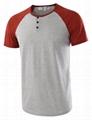 Men's Casual Short Sleeve Henley Shirt