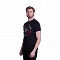 Latest shirt designs custom men vintage t-shirt funny science pattern designer 3