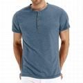 Men's Casual Slim Fit Short Sleeve