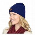 Winter Polar Fleece Beanie Wholesale Cashmere Jersey Crumpet Beanie Toque Hat