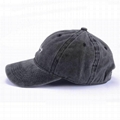 Hot sale dad cap custom embroidery washed cotton baseball cap hats vintage