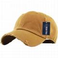 Wholesale distressed dad hats custom