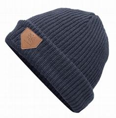 New Knitted Beard Hat Mustache Bicycle Mask Crochet Ski Winter Warm Beanie
