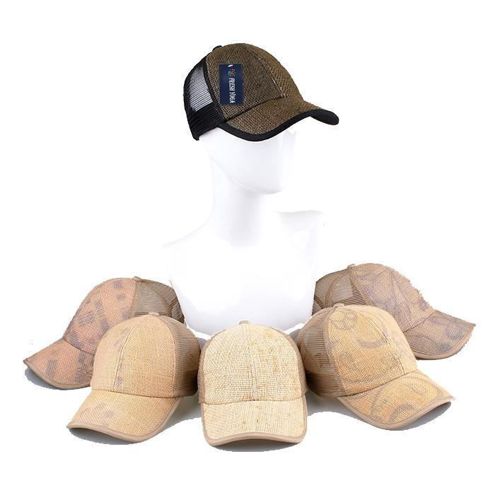 Custom hemp snapback trucker hat with mesh hip hop hemp gorro golf baseball cap