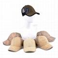 Custom hemp snapback trucker hat with