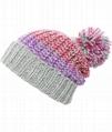 New Crochet Rasta Pom Beanie Tam Hat Womens Ladies Jamaica Colorful Rasta Hat