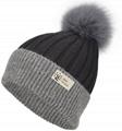 Wholesale cashmere hat beanie fox fur