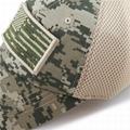 Stylish hats camo mesh back hats unstructured 6 panel baseball cap American flag 6