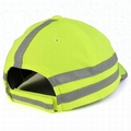High Visibility Safety Cap Reflective Stripes Fluorescent Hunting Cap Hat