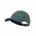 New Arrival Sport Backless Cap Baseball Ponytail Hat Washed Cotton Vintage