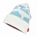 Beanie Hat Custom Logo Baby Beanie Cotton Own Design Jacquard Hat Winter Beanie  1
