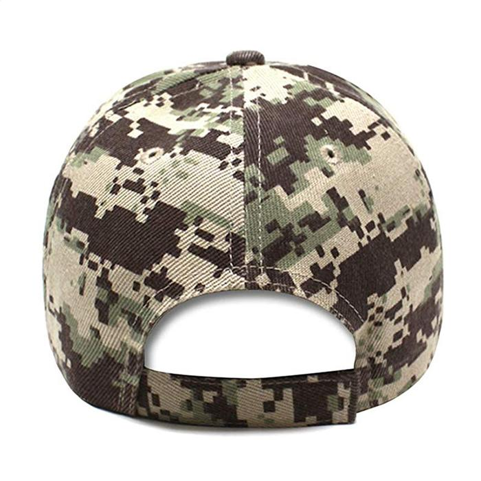 Trucker Hat Veterans for Trump Camouflage Baseball Cap HooK and Loop Closure Hat 6
