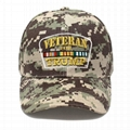Trucker Hat Veterans for Trump Camouflage Baseball Cap HooK and Loop Closure Hat 5