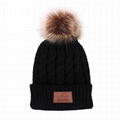 Fashion Cashmere Knitted Beanie Hats