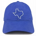 Hot sale dad cap custom Texas map embroidery mens cap with custom your logo
