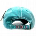 Wholesale frayed Patch blue denim distressed dad hat sports baseball cap hip hop