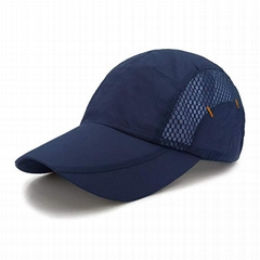 Quick Dry Sports Cap Sun Hat Summer UV Protection Outdoor Cap Running Hat